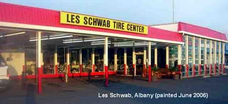 Les Schweb, albany (painted June 2006)